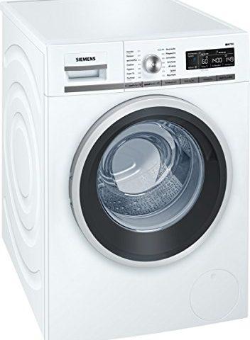 siemens iq700 wm14w5a1 isensoric premium waschmaschine a 1400 upm 8 kg wei. Black Bedroom Furniture Sets. Home Design Ideas