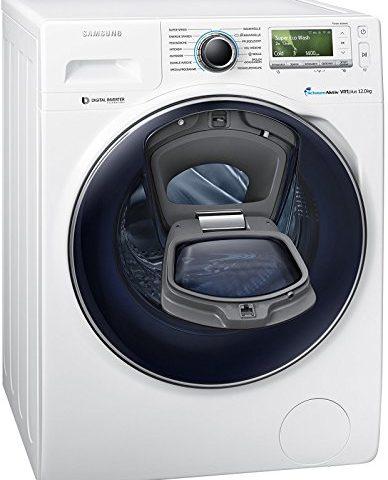 samsung ww12k8402ow eg waschmaschine fl a 141 kwh jahr 1400 upm 12 kg add wash. Black Bedroom Furniture Sets. Home Design Ideas