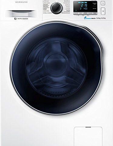 samsung wd90j6400aweg waschtrockner 1224 kwh 9 kg. Black Bedroom Furniture Sets. Home Design Ideas
