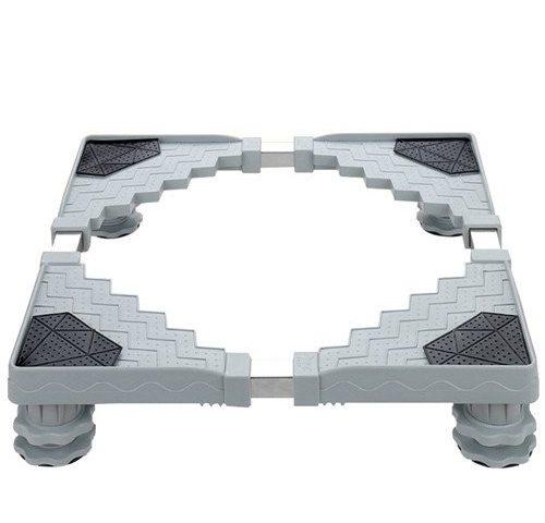 miyare waschmaschine sockel untergestell f r k hlschrank verstellbare sockel mit 4 set gummi. Black Bedroom Furniture Sets. Home Design Ideas